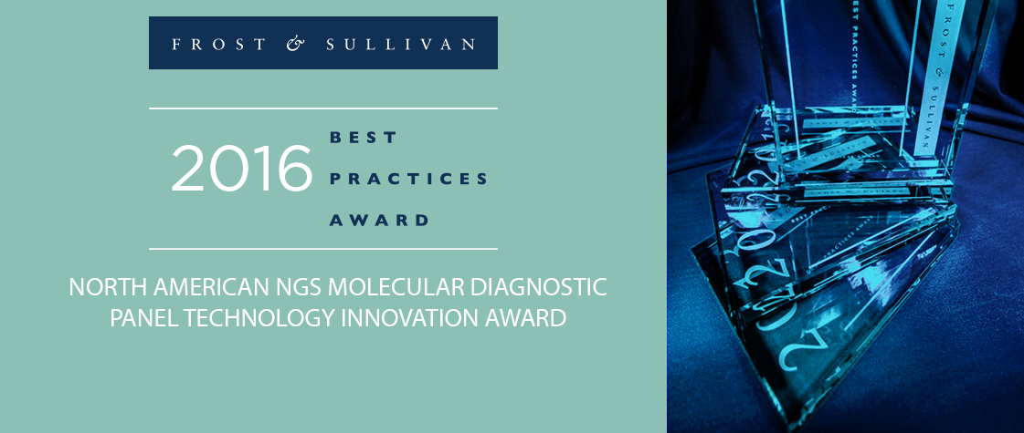 Frost & Sullivan NGS Molecular Diagnostic Panel Technology Innovation Award