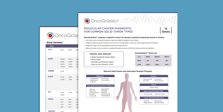 OncoGxSelect_Info_sheet_thumb-1 Solid Tumor Profiling