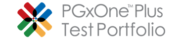 PGxOne_Plus_Test_Portfolio_Logo Product Portfolio